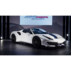 Ferrari 488 Pista Spider Pebble Peach 2018 Looksmart LS496A
