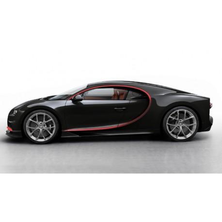 Bugatti Chiron Skyview Nocturne Red 2018 Looksmart LS494D