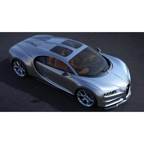 bugatti chiron skyview argent 2018 looksmart ls494b miniatures minichamps. Black Bedroom Furniture Sets. Home Design Ideas