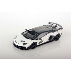 Lamborghini Aventador SVJ Bianco Phanes Special Edition Looksmart LS489B