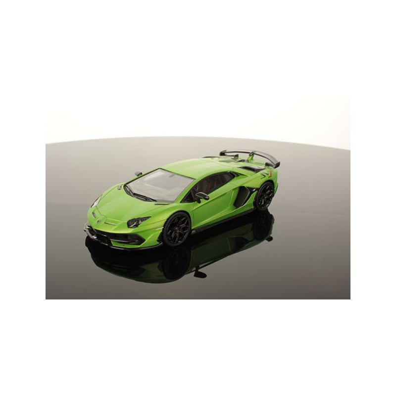 Lamborghini Aventador Svj Verde Alceo Looksmart Ls489a Miniatures