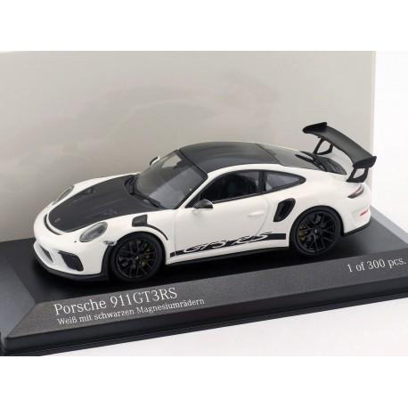 Porsche 911 GT3 RS 2018 White Black Minichamps 413067033