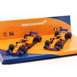 Cars Set McLaren Renault MCL33 F1 2018 Alonso Vandoorne Minichamps 447181402