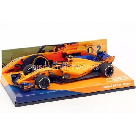 McLaren Renault MCL33 F1 Espagne 2018 Stoffel Vandoorne Minichamps 447184302