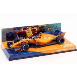 McLaren Renault MCL33 F1 Espagne 2018 Fernando Alonso Minichamps 447184314