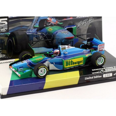 Benetton Ford B194 F1 World Champion 1994 Michael Schumacher Minichamps 447941605