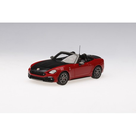 Fiat Abarth 124 Spider Costa Brava Red 1972 Truscale TSM430133