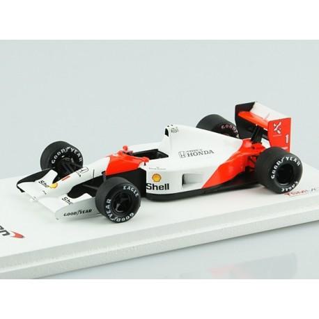 McLaren MP4/6 F1 1991 Ayrton Senna Truescale TSM124333