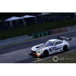 Mercedes AMG GT3 16 24 Heures du Nurburgring 2018 Minichamps 410183716