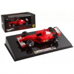 Ferrari F2001 F1 Hongrie 2001 Michael Schumacher Hotwheels V8374