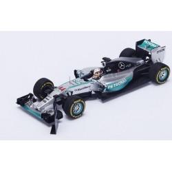 Mercedes W06 F1 USA 2015 Lewis Hamilton Spark S4622