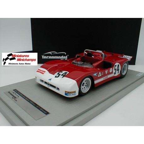 Alfa Romeo T33/3 54 Winner 1000 Km de Brands Hatch 1971 Tecnomodel TM1850A