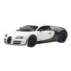 Bugatti Veyron Super Sport White Carbone 2010 Autoart 70933