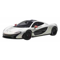 McLaren P1 Ice Silver 2014 Autoart 76023