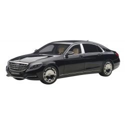 Mercedes Benz Maybach S Klasse S600 Black 2015 Autoart 76293