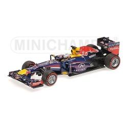 Red Bull Renault RB9 F1 Brésil 2013 Sebastien Vettel Minichamps 410131201