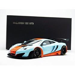 McLaren MP4/12C GT3 Gulf Blue Orange 2013 Autoart 81343