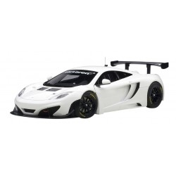 McLaren MP4/12C GT3 White 2013 Autoart 81341