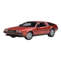 DMC De Lorean DMC-12 Red Metallic Autoart 79918