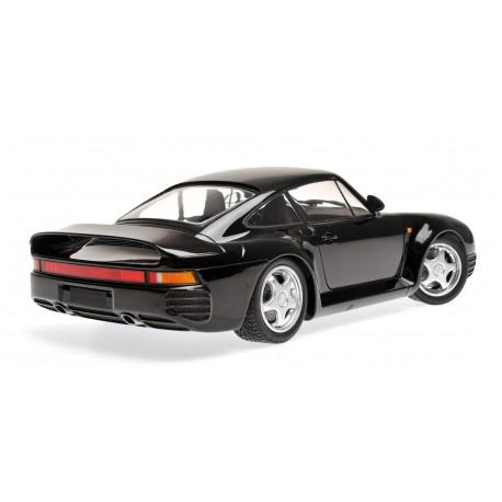 Porsche 959 Black 1987 Spark 155066207