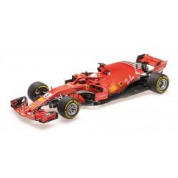 Ferrari SF71H F1 Winner Australie 2018 Sebastian Vettel BBR BBR181805
