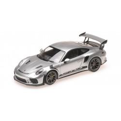 Porsche 911 (991 II) GT3 RS Silver Metallic 2018 Minichamps 410067020