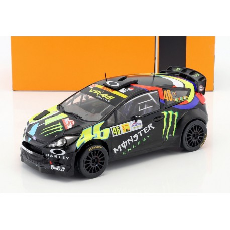 Ford Fiesta RS WRC 46 Monza Rally 2012 Rossi Cassina IXO 18RMC016