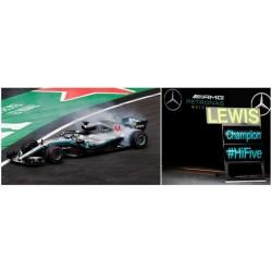 Mercedes F1 W09 EQ Power+ 44 F1 World Champion Mexique 2018 Lewis Hamilton Spark S6067