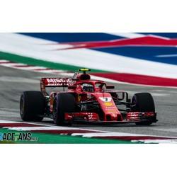 Ferrari SF71H 7 Winner USA GP 2018 Kimi Raikkonen Looksmart LSF1018