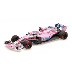 Force India Mercedes VJM11 11 F1 Azerbaijan 2018 Sergio Perez Minichamps 417180411