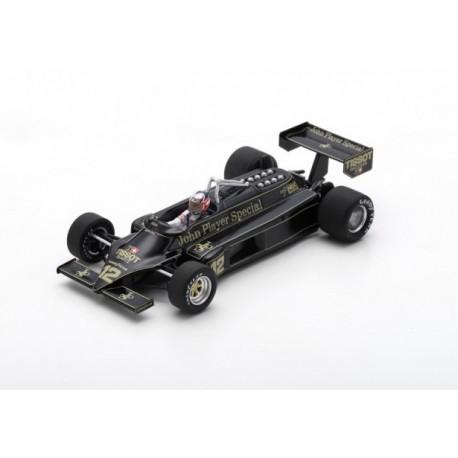 Lotus 87 12 F1 USA 1981 Nigel Mansell Spark S5358