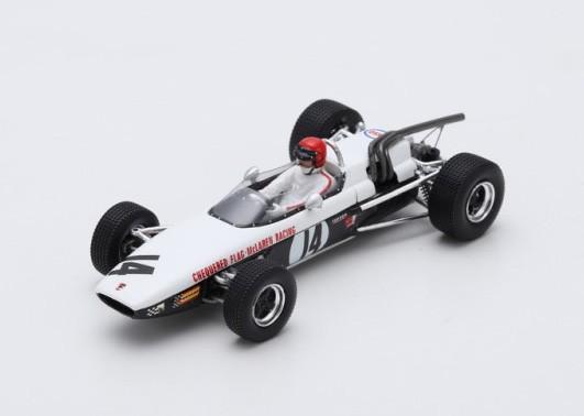 McLaren M4A 14 F2 Pau 1968 Robin Widdows Spark SF120
