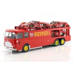 Transporter Fiat Bartoletti 306/2 Ferrari JCB 1963 Norev 187701