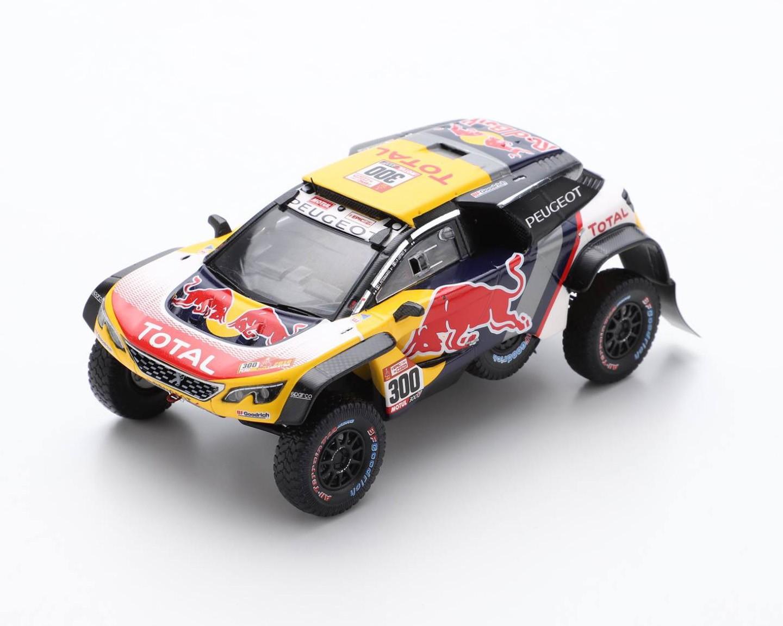 Peugeot 3008 DKR Maxi 300 Rallye Dakar 2018 Peterhansel Cottret Spark S5620