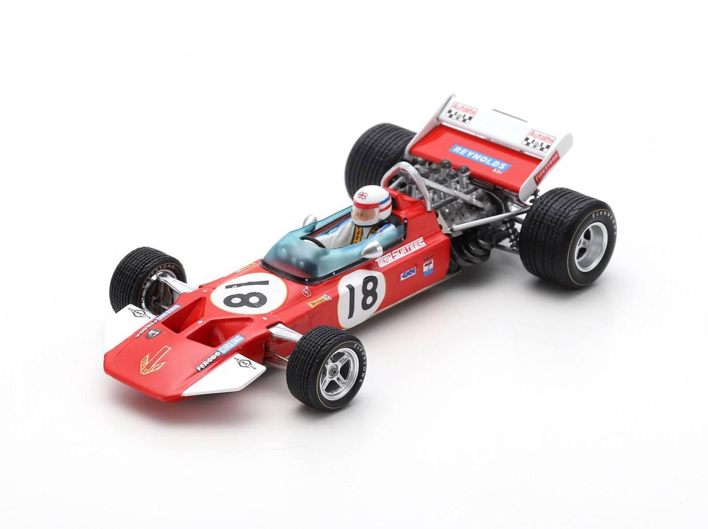 Surtees TS7 18 F1 USA 1970 Derek Bell Spark S5401