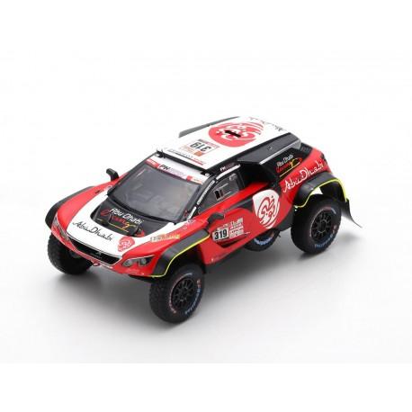 Peugeot 3008 DKR Maxi PH Sport 319 Rallye Dakar 2018 Al Qassimi Pansieri Spark S5623