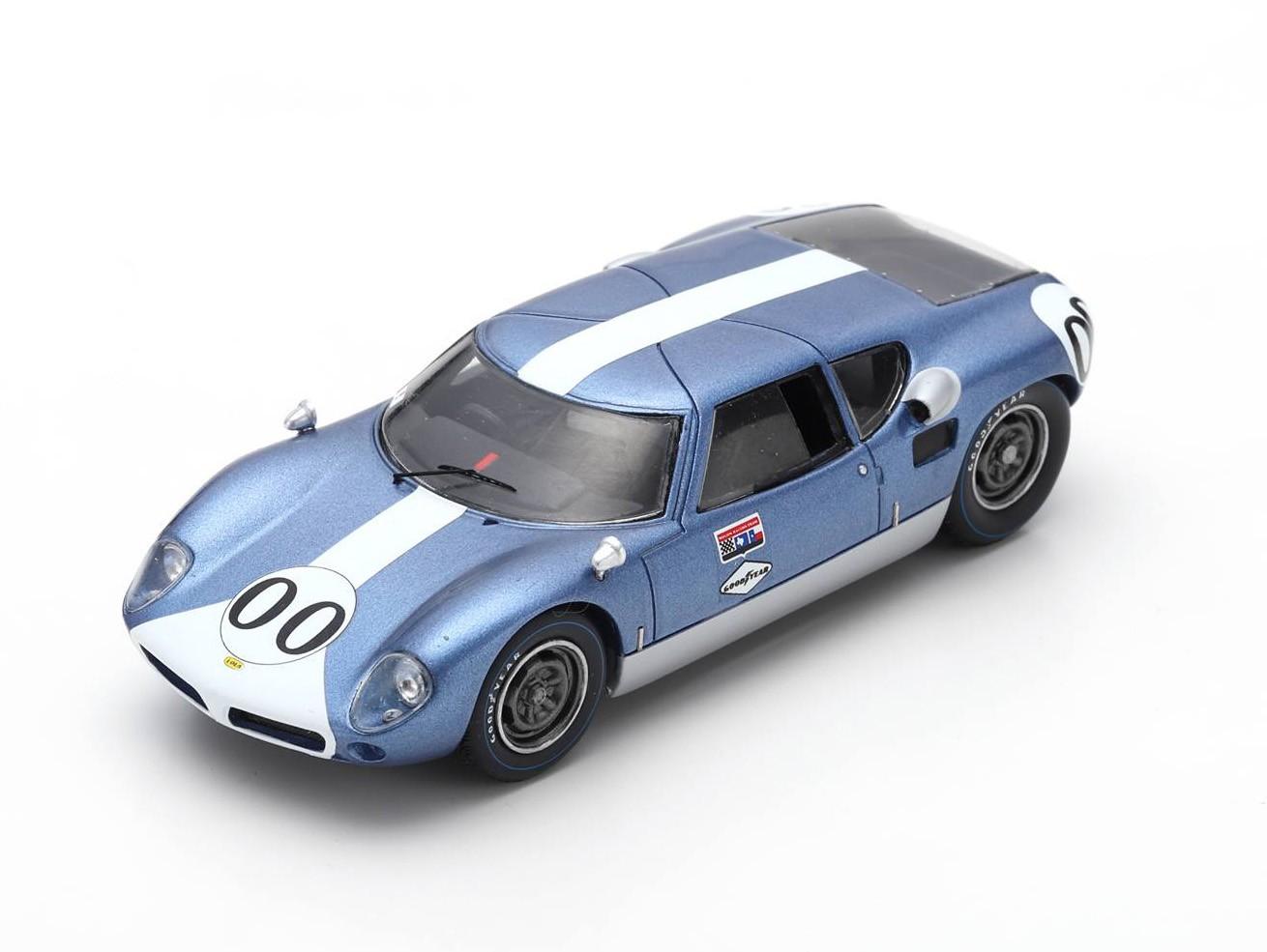 Lola MK VI 00 Winner Nassau Tourist Trophy 1963 Augie Pabst Spark SUS040