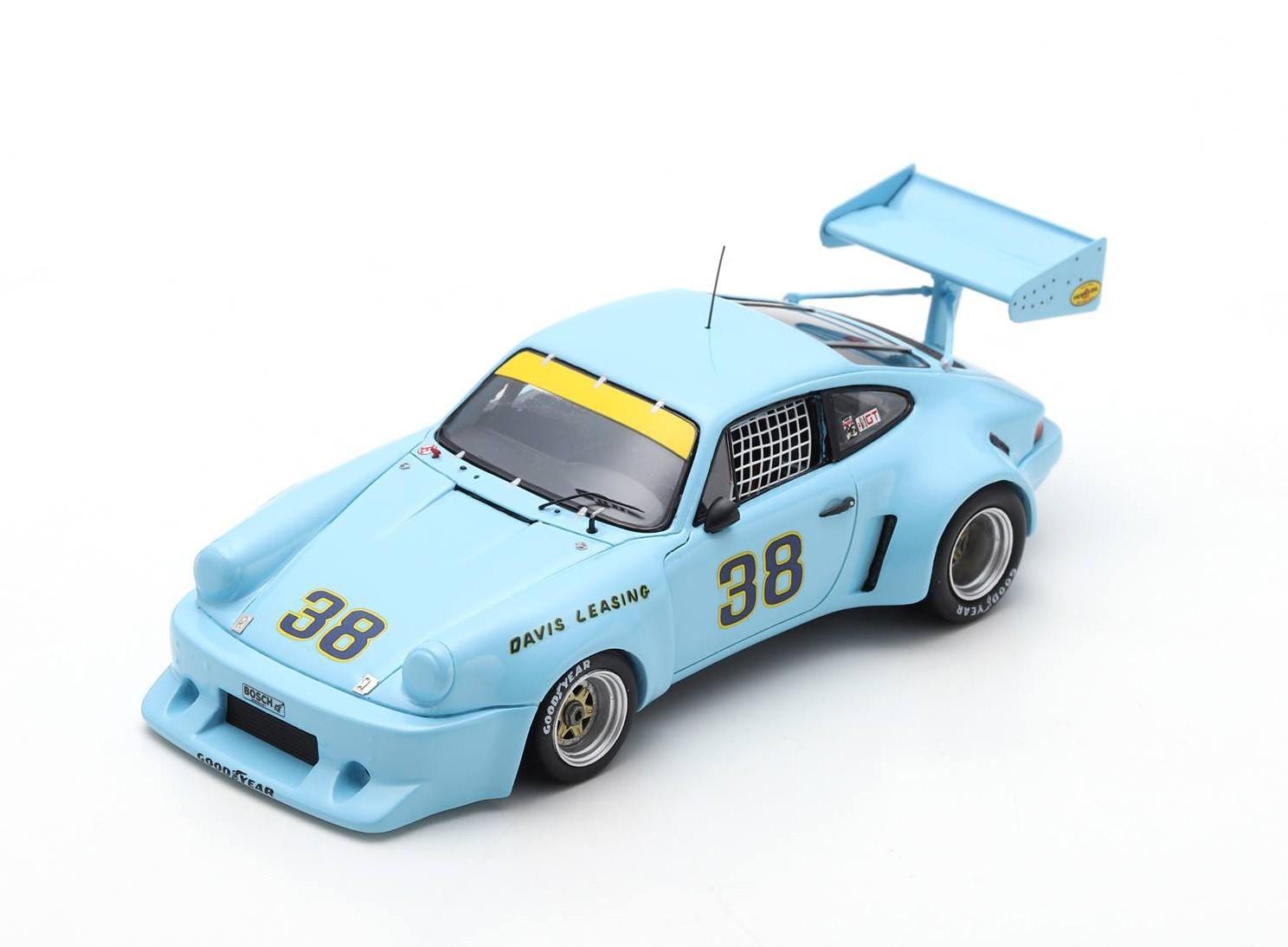 Porsche 911 RSR 38 100 miles Mid-Ohio 1977 John Paul Spark SUS045