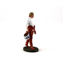 Figurine Didier Pironi French Pilot of the Years 70' - 80' Le Mans Miniatures LMFLM118018