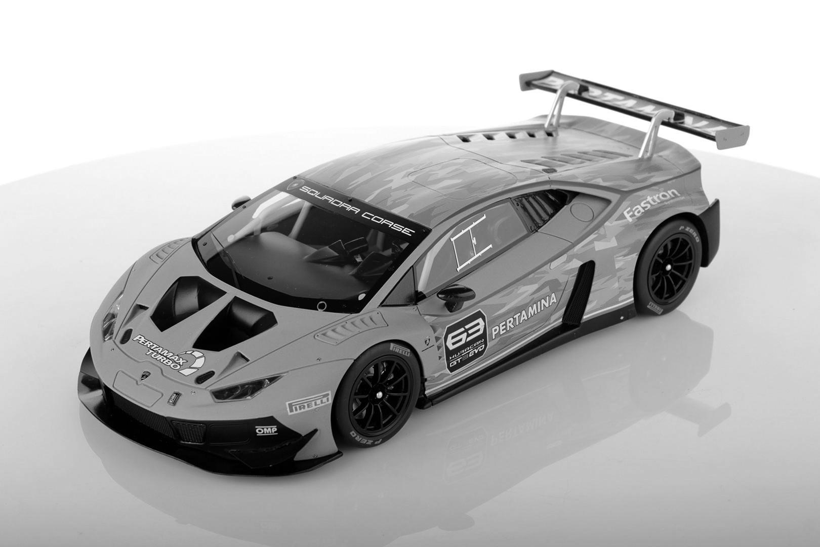 Lamborghini Huracan Gt3 Evo Solid Black Looksmart Ls18020d