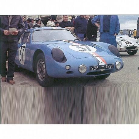 Porsche 356B Abarth GTL 37 24 Heures du Mans 1961 Spark S1362