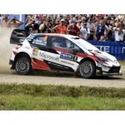 Toyota Yaris WRC 8 Rallye de Finlande 2018 Tanak Jarveoja IXO RAM683