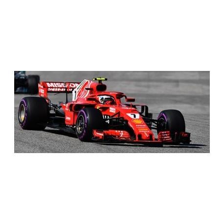 Ferrari SF71H 7 USA GP 2018 Kimi Raikkonen Looksmart LS18F1018