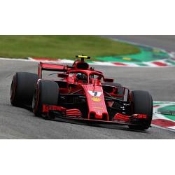 Ferrari SF71H 7 F1 Italie 2018 Kimi Raikkonen Looksmart LS18F1017