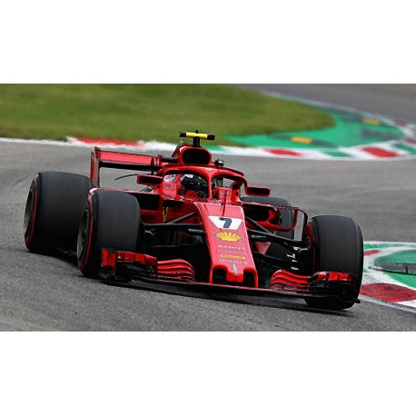 Ferrari SF71H 7 F1 Italie 2018 Kimi Raikkonen Looksmart LSF1017
