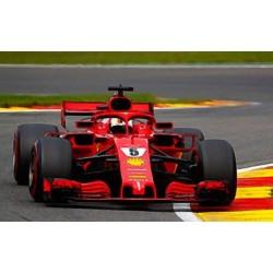 Ferrari SF71H 5 F1 Belgique 2018 Sebastian Vettel Looksmart LS18F1016