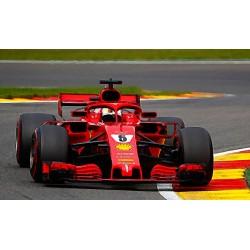 Ferrari SF71H 5 F1 Belgique 2018 Sebastian Vettel Looksmart LSF1016