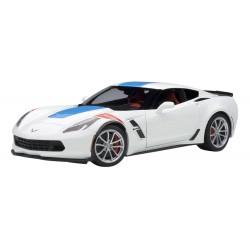 Chevrolet Corvette C7 Grand Sport White Blue Red 2017 Autoart 71271