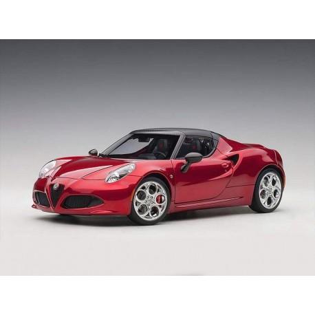 Alfa Romeo 4C >> Alfa Romeo 4c Spider Red Metallic Autoart 70142