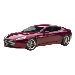 Aston Martin Rapide S Red Metallic 2015 Autoart 70257